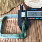 SOLD OUT: A-Grade Type A Jadeite Jade Square Bangle No.151400