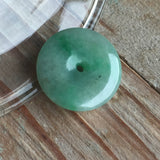 SOLD OUT: A-Grade Type A Jadeite Jade Donut Pendant No.170038