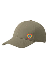 Load image into Gallery viewer, Adult Rainbow Heart Cap - COLOURS