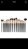 24 piece brush set