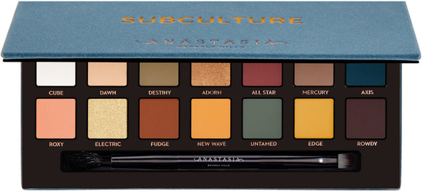 Anastasia of Beverly Hills Subculture Palette