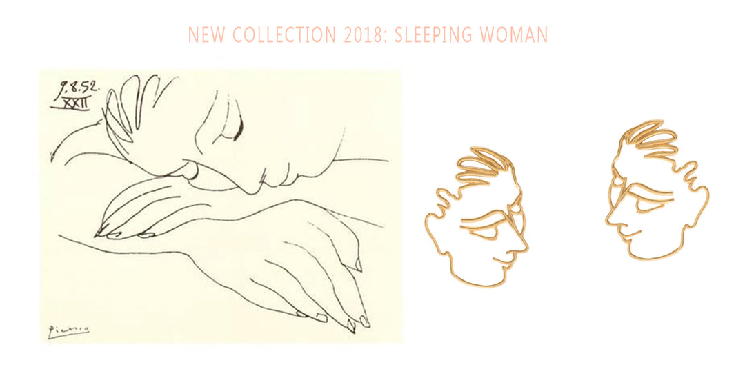 New collection 2018: Sleeping woman