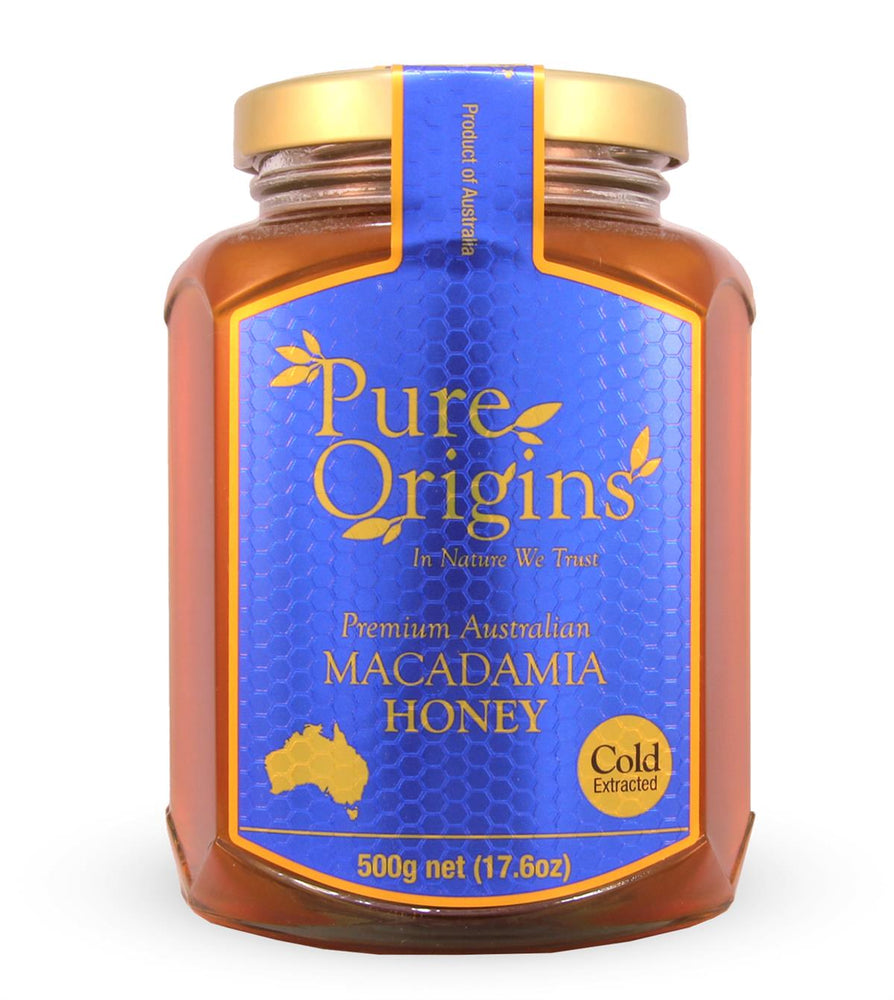 PURE ORIGINS MACADAMIA HONEY (500g)