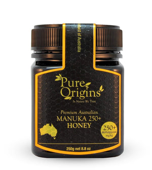 PURE ORIGINS MANUKA HONEY 250+ MGO (250g)