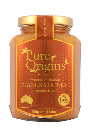 PURE ORIGINS MANUKA HONEY SIGNATURE BLEND (500g)