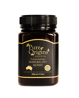Load image into Gallery viewer, PURE ORIGINS MANUKA HONEY 250+ MGO (500g)