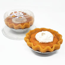Load image into Gallery viewer, 3 Inch Scented Pumpkin Pie Candle