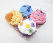 Load image into Gallery viewer, Bakery Box of Four Cupcake Candles -  Choose your Flavors