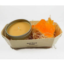 Load image into Gallery viewer, Citrine Crystal Soap & Candle Gift Set