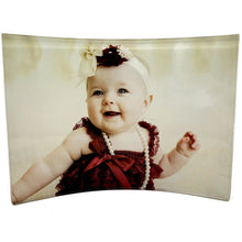 "Load image into Gallery viewer, Curved Acrylic 5""x7"" Photo- Customize With Your Own Image"
