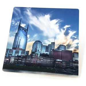Batman Building Nashville Sandstone Coaster