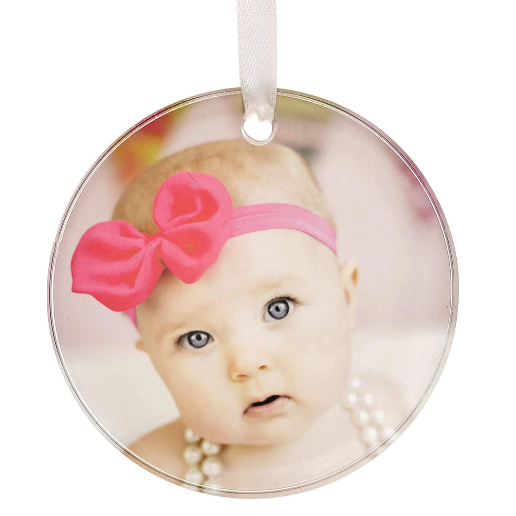 Acrylic Ornament - Customize With Your Own Image