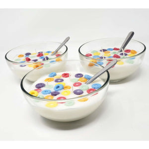 Fruit Loops Style Scented Cereal Bowl Candle