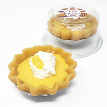 Load image into Gallery viewer, 3 Inch Scented Lemon Pie Candle