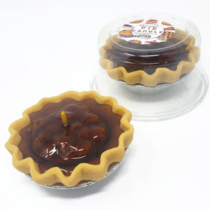 3 Inch Scented Pecan Pie Candle