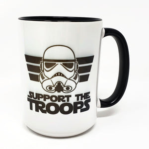 15 oz Extra Large Coffee Mug - Support the Troops