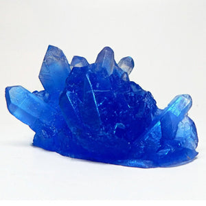 Crystal Shaped Soap - Vegan, Glycerin Base - Cobalt - Choose Your Scent