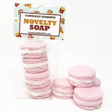 Load image into Gallery viewer, Mini French Macaron Soaps - Four Piece Set - Choose Your Flavor