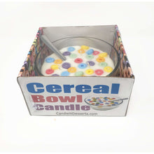 Load image into Gallery viewer, Fruit Loops Style Scented Cereal Bowl Candle