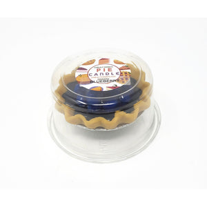 3 Inch Scented Blueberry Pie Candle
