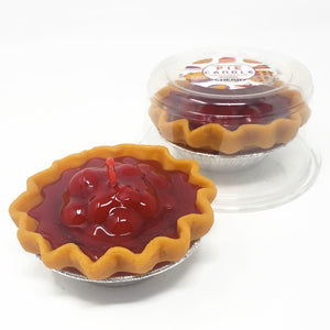 3 Inch Scented Cherry Pie Candle