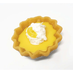 3 Inch Scented Lemon Pie Candle