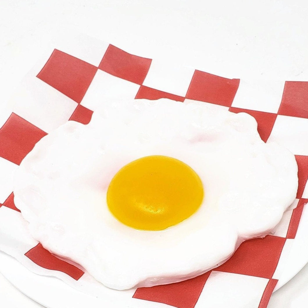 Fried Egg Shaped Soap