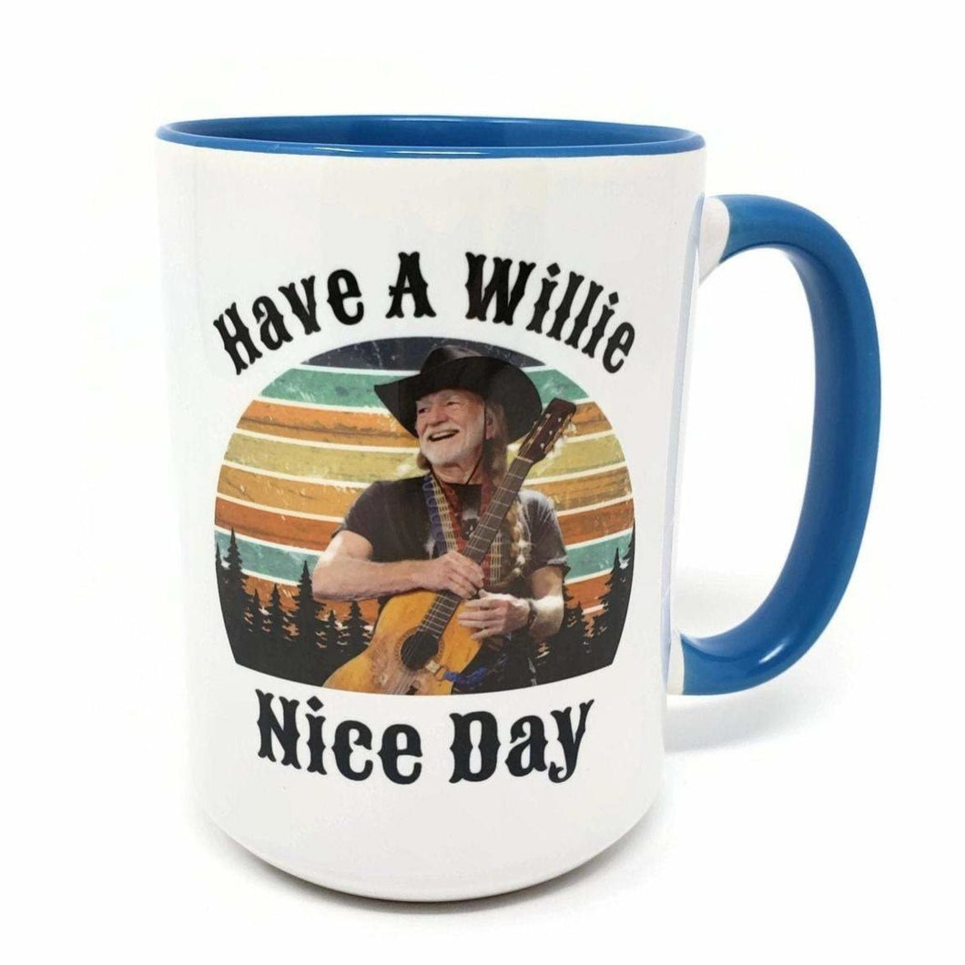 15 oz Extra Large Coffee Mug - Have a Willie Nice Day