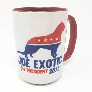 15 oz Extra Large Coffee Mug - Joe Exotic for President