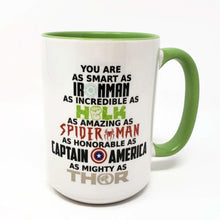Load image into Gallery viewer, 15 oz Extra Large Coffee Mug - Marvel
