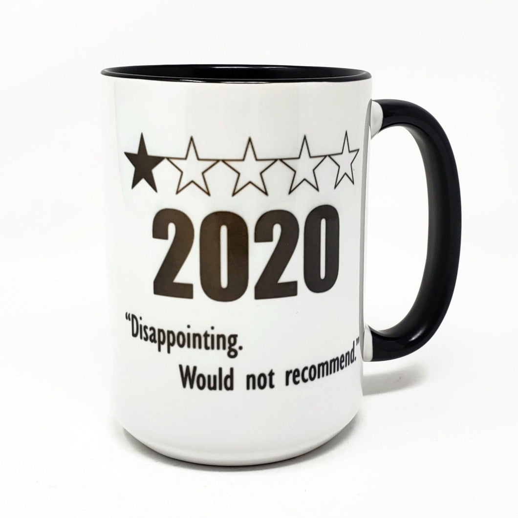 15 oz Extra Large Coffee Mug - 2020 One Star Rating
