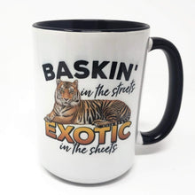 Load image into Gallery viewer, 15 oz Extra Large Coffee Mug - Baskin in the Sheets - Exotic in the Streets