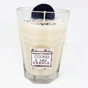 Cookie and Milk Scented Candle