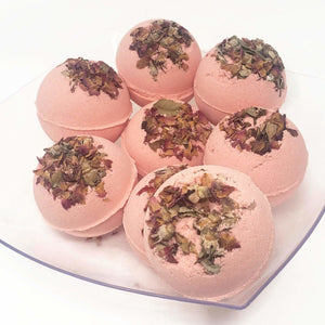 Jumbo Bath Bomb - Rose Scented