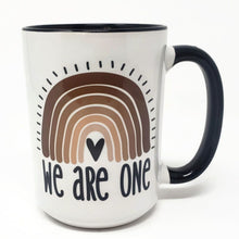 Load image into Gallery viewer, 15 oz Extra Large Coffee Mug - We Are one