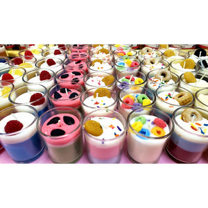 Dessert Shot Glass Candles - Choose Your Scent
