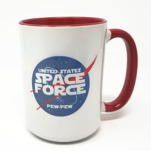 15 oz Extra Large Coffee Mug - Space Force