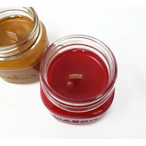 Wooden Wick Mason Jar Candles - Choose Your Scent