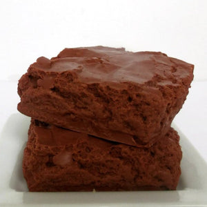 Brownie Shaped Soap - Brownie Scented