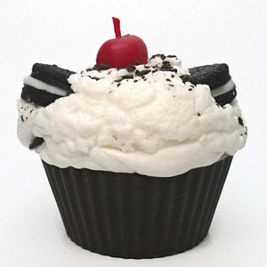 Jumbo Cookies and Cream Cupcake Candle