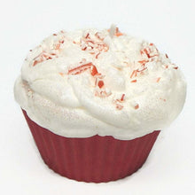 Load image into Gallery viewer, Jumbo Peppermint Cupcake Candle