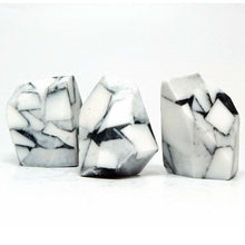 Load image into Gallery viewer, White Turquoise Rock Soap Set - Three Pieces - Marble