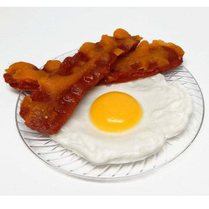 Bacon and Eggs Novelty Soap