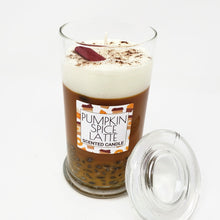 Load image into Gallery viewer, Pumpkin Spice Latte Scented Candle with Lid