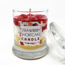 Load image into Gallery viewer, Scented Strawberry Shortcake Candle