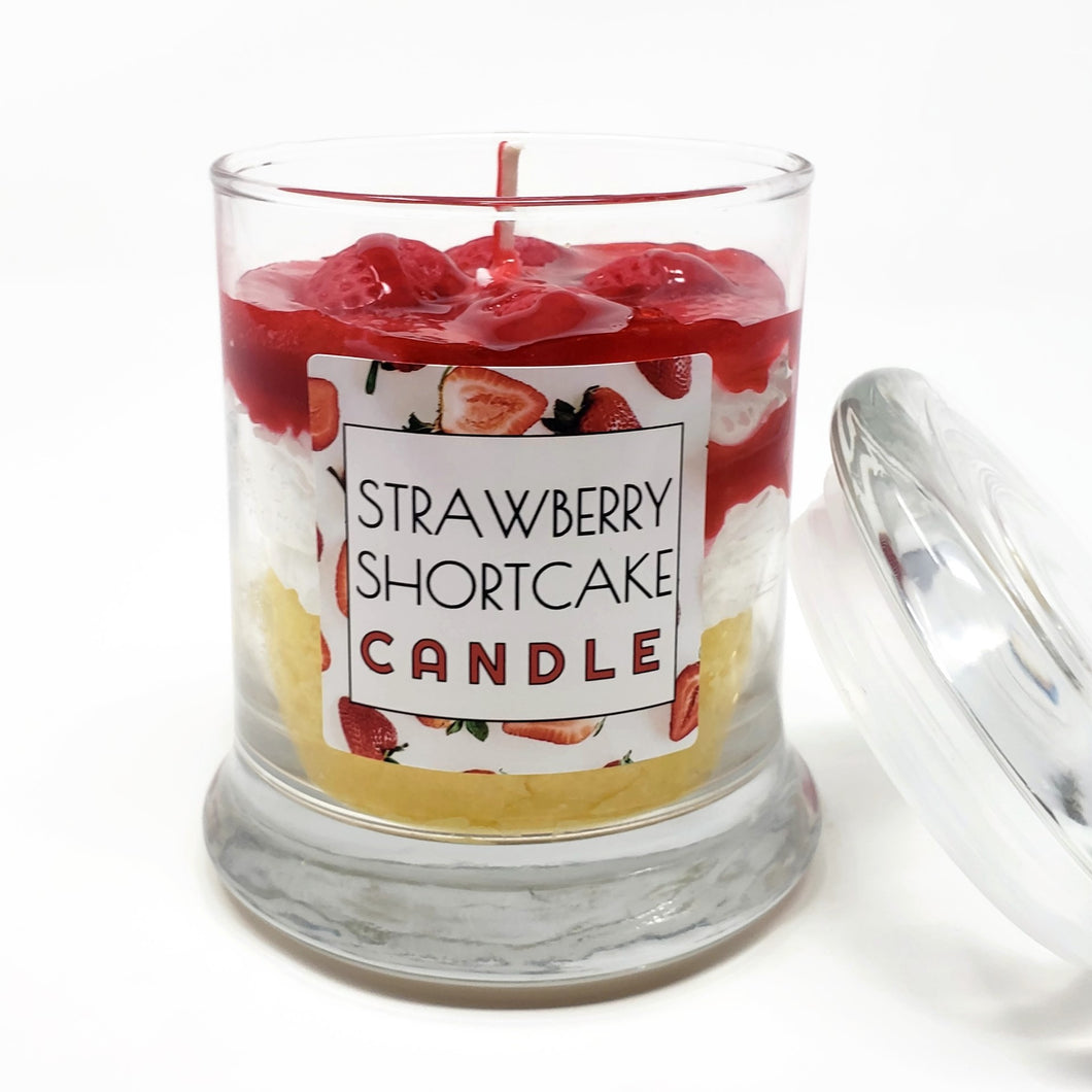 Scented Strawberry Shortcake Candle