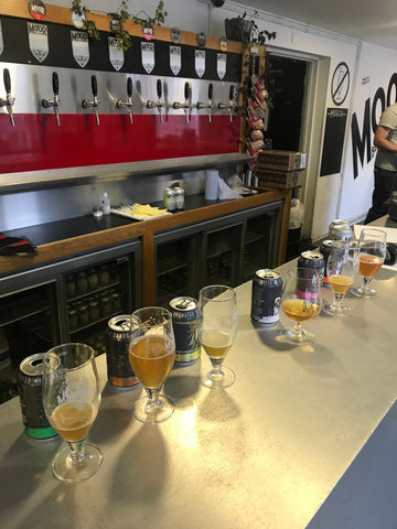 Tasting Session at Moor Beer Company