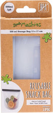 Load image into Gallery viewer, REUSABLE FOOD SILICONE SNACK BAG - SMALL 500ML
