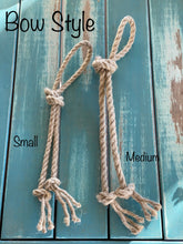 Load image into Gallery viewer, NATURAL HEMP ROPE DOG TOYS