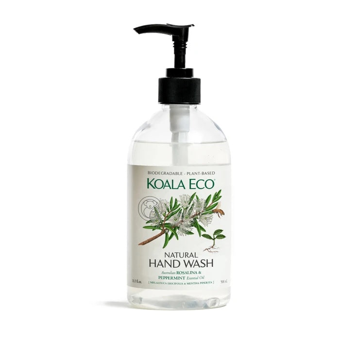 HAND WASH (ROSALINA & PEPPERMINT)